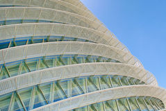 Circular facade Royalty Free Stock Photography