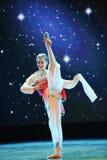 Circular fan-classical dancing Royalty Free Stock Images