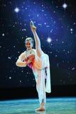 Circular fan-classical dancing Stock Image