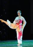 Circular fan-classical dancing Stock Photo