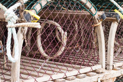 Circular Fish  Traps Royalty Free Stock Photo