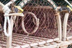 Circular Fish  Traps Royalty Free Stock Photo