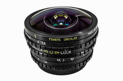 Circular fisheye Royalty Free Stock Images
