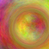 Circular Form Color Abstract Stock Photography