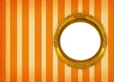 Circular frame Royalty Free Stock Image