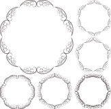 Circular frames Royalty Free Stock Photography