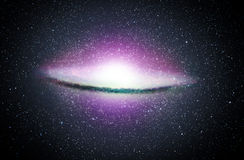 Circular Galaxy Royalty Free Stock Images