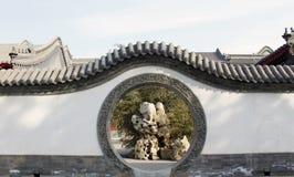 Circular gate Stock Photo