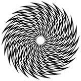 Circular geometric motif, abstract mandala, geometric shape Royalty Free Stock Photos