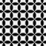 Circular geometric retro pattern Royalty Free Stock Photography
