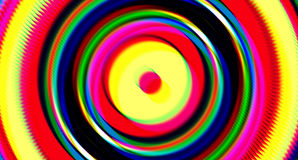 Circular Glitch Tilt Shift Shape Abstract Background Royalty Free Stock Photo