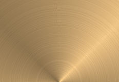 Circular gold metal texture  Stock Photos