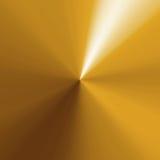 Circular Gold Texture Stock Image