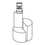 Circular graph statistic with barrel of fuel. Illustration design Stock Image