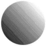 Circular halftone Stock Image