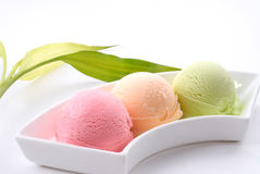 Circular ice cream Stock Image