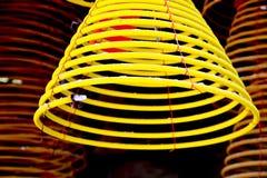 Circular incenses burning Royalty Free Stock Photography