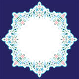 Circular islamic background four. Series of patterns designed by taking advantage of the former Ottoman Stock Photos