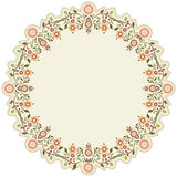 Circular islamic background six. Series of patterns designed by taking advantage of the former Ottoman vector illustration