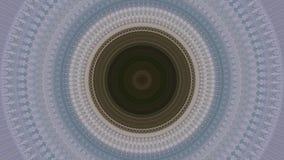 Circular kaleidoscope stock footage