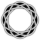 Circular knot Stock Photography