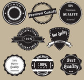 Circular labels Royalty Free Stock Photography