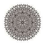 Circular lace pattern Stock Photography