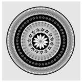 Circular lace pattern vector Royalty Free Stock Photo