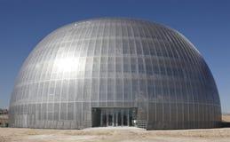 Edificio metálico bajo construcción Fotos de archivo libres de regalías