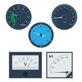 Circular Meter set Stock Photography