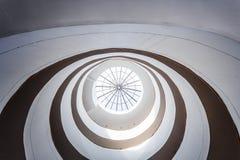 Circular Modern Skylight Royalty Free Stock Images