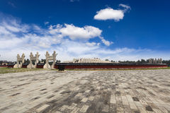 Circular mound altar in temple of heaven Stock Images