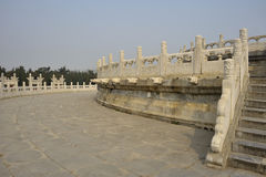 Circular Mound Altar, Temple of Heaven Royalty Free Stock Photo