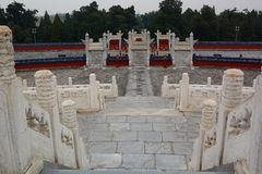 The Circular Mound Altar. The Temple of Heaven. Beijing. China Royalty Free Stock Photos