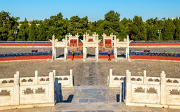 Circular Mound Altar at the Temple of Heaven in Beijing Royalty Free Stock Photos