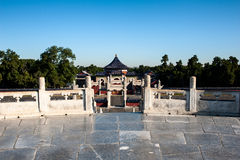 The Circular Mound in Temple of Heaven Royalty Free Stock Photography