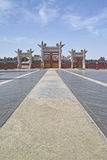 Circular Mound in Temple of Heaven Royalty Free Stock Photo