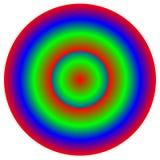 Circular multicolor element - Color wheel, color palette with un Stock Photos