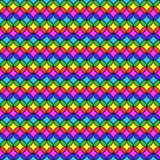 Circular Multicolored Stripes. Seamless party fun colors pattern Stock Photo