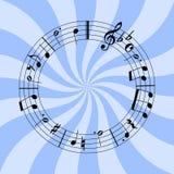 Circular music Royalty Free Stock Photos