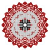 Circular Ornament. Vector circular ornament, with many details Royalty Free Stock Photos
