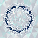 Circular Ornament in the Greek Style Royalty Free Stock Images