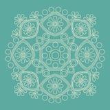 Circular  ornament. Round pattern mandala. Circular  ornament. Round pattern mandala style Royalty Free Stock Photography