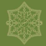 Circular  ornament. Round pattern mandala. Circular  ornament. Round pattern mandala style Stock Photo