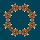 Circular ornament vector design. Circular ornament can be used as wallpaper or greeting card, site background and other vector illustration