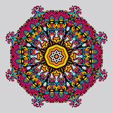 Circular ornament . Vector. Mandala in Oriental style. Vector Stock Images