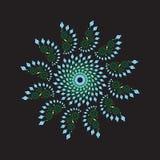 Circular ornamental fractal Stock Photos