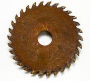 Circular oxidada Fotos de archivo