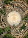 Circular panorama Paris. Circular panorama, Beautiful romantic Paris. France Stock Photos