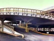 Circular Parking Garage Stock Photo